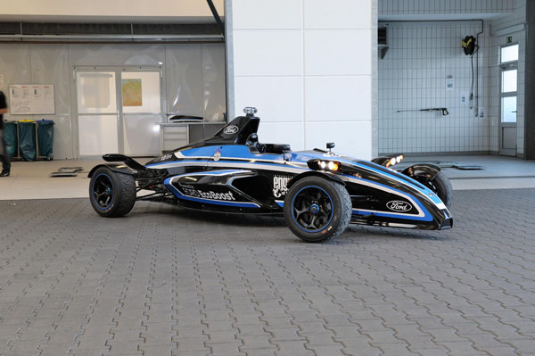 Ford Ecoboost racer - you can't buy one, but what impressive performance!