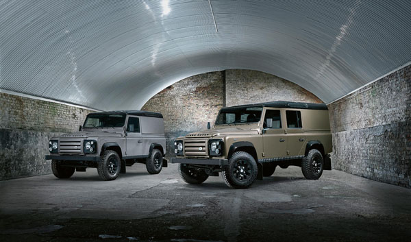 Land Rover Defender XTech special edition - a rugged beast!