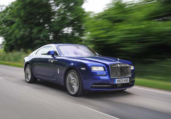 Rolls-Royce Wraith took everyone's breath away at the Goodwood Festival of Speed 2013